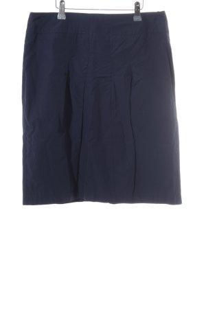 Betty Barclay High Waist Rock dunkelblau schlichter Stil