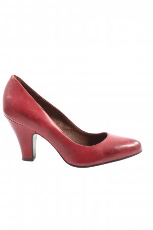 Betty Barclay Hochfront-Pumps rot Casual-Look