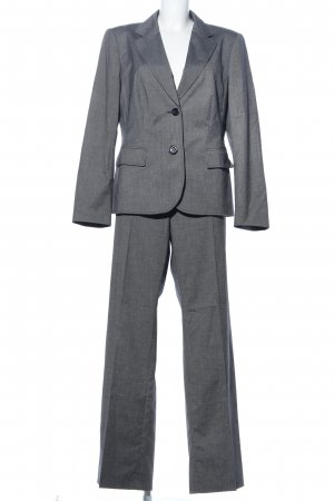 Betty Barclay Trouser Suit light grey flecked business style