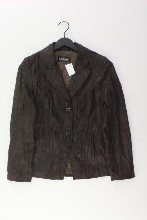 Betty Barclay Jacke Größe 38 braun aus Polyester