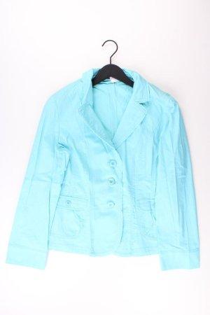 Betty Barclay Jacke Größe 42 blau aus Baumwolle