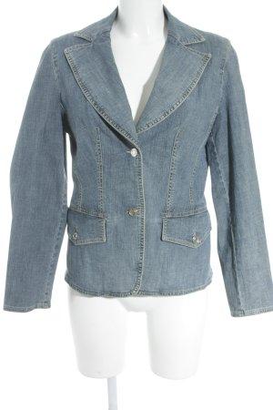 Betty Barclay Jeansblazer blau meliert Casual-Look