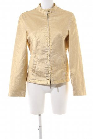 Betty Barclay Jeansjacke goldfarben Glanz-Optik