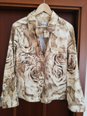 Betty Barclay Jeansjacke beige Rosen 40