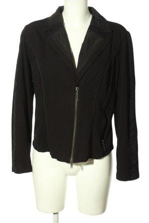 Betty Barclay Jersey blazer zwart zakelijke stijl
