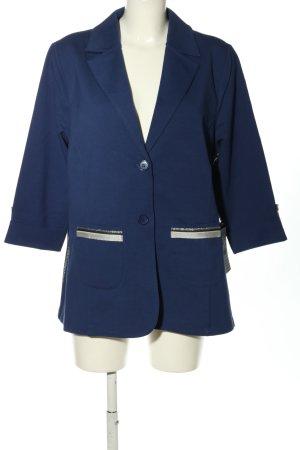 Betty Barclay Jerseyblazer blau-wollweiß Elegant