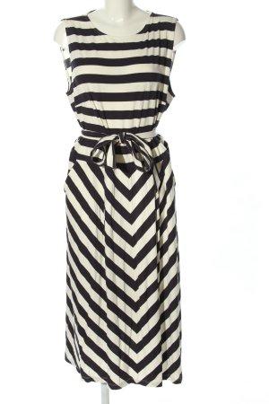Betty Barclay Sukienka z dżerseju biały-czarny Na całej powierzchni