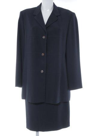 Betty Barclay Kostüm dunkelblau Business-Look