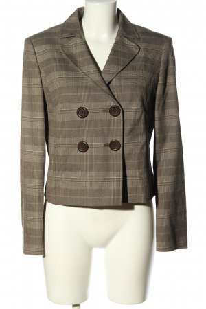 Betty Barclay Kurz-Blazer braun Allover-Druck Casual-Look