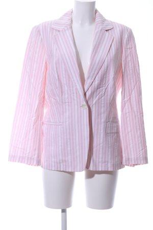 Betty Barclay Kurz-Blazer pink-weiß Streifenmuster Casual-Look