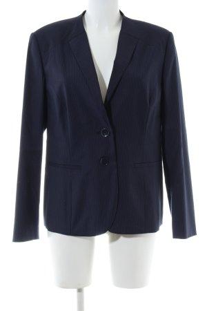 Betty Barclay Kurz-Blazer blau Streifenmuster Business-Look