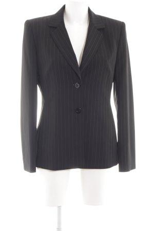 Betty Barclay Kurz-Blazer schwarz-weiß Allover-Druck Business-Look