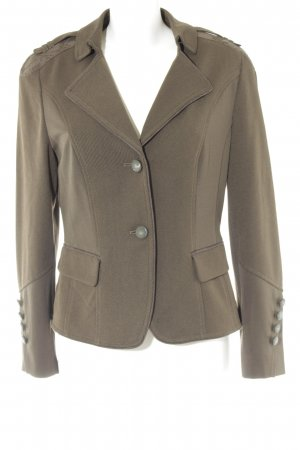 Betty Barclay Korte blazer olijfgroen casual uitstraling