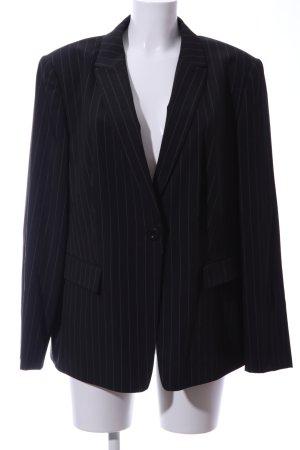 Betty Barclay Kurz-Blazer schwarz-weiß Streifenmuster Business-Look