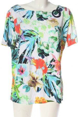 Betty Barclay Kurzarm-Bluse Allover-Druck Casual-Look