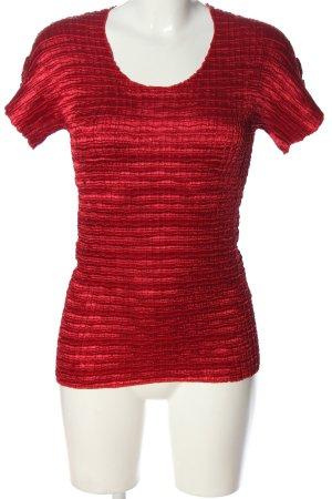 Betty Barclay Kurzarm-Bluse rot Casual-Look