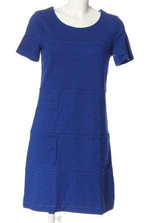 Betty Barclay Kurzarmkleid blau Casual-Look