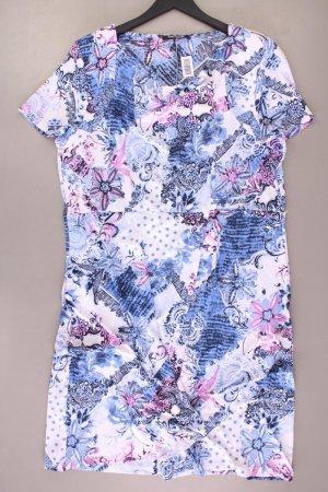 Betty Barclay Kurzarmkleid Größe 48 mit Blumenmuster neuwertig mehrfarbig aus Polyester