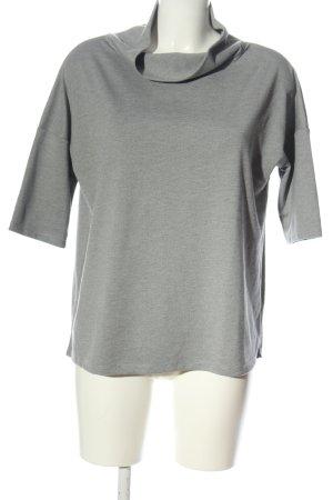 Betty Barclay Short Sleeve Sweater light grey casual look