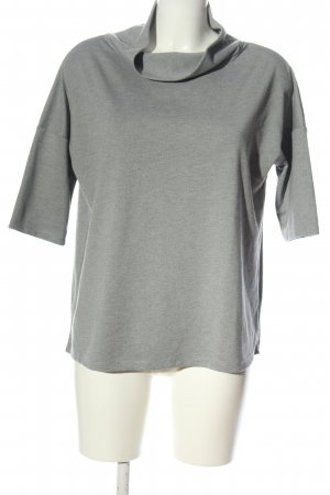 Betty Barclay Maglione a maniche corte grigio chiaro stile casual