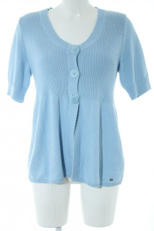 Betty Barclay Cardigan a maniche corte blu stile casual