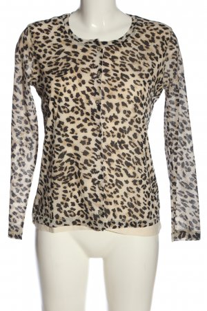 Betty Barclay Langarm-Bluse creme-schwarz Allover-Druck Casual-Look