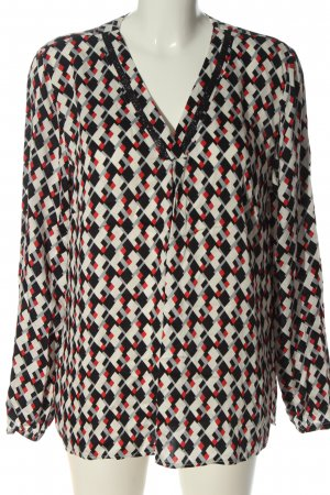 Betty Barclay Langarm-Bluse Allover-Druck Casual-Look