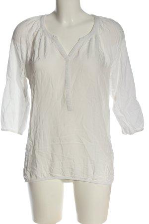 Betty Barclay Camicetta a maniche lunghe bianco stile casual