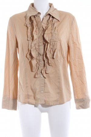 Betty Barclay Langarm-Bluse camel Casual-Look