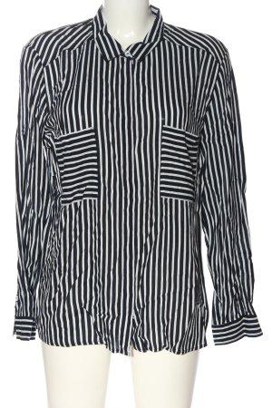 Betty Barclay Langarm-Bluse schwarz-weiß Allover-Druck Business-Look