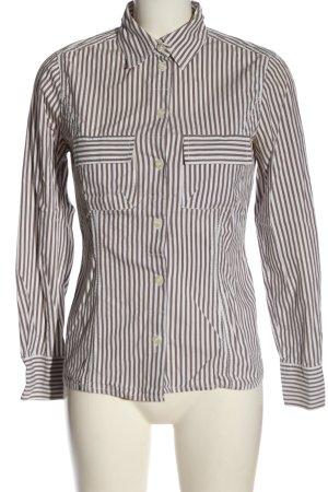 Betty Barclay Langarmhemd weiß-braun Motivdruck Casual-Look