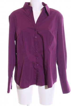 Betty Barclay Langarmhemd lila Business-Look