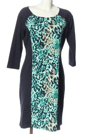 Betty Barclay Langarmkleid abstraktes Muster Elegant