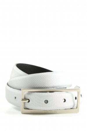 Betty Barclay Faux Leather Belt light grey casual look