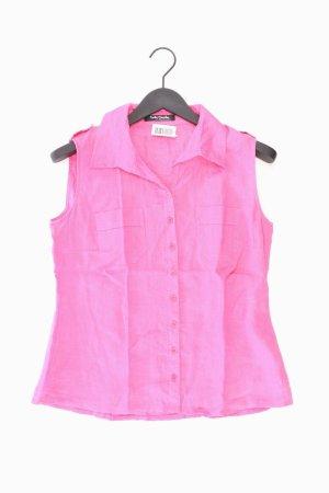 Betty Barclay Leinenbluse Größe 40 Ärmellos pink