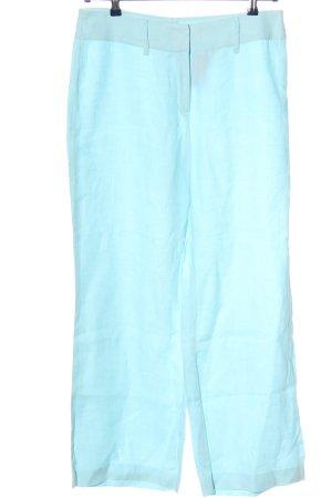 Betty Barclay Pantalón de lino azul look casual