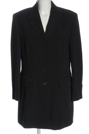Betty Barclay Lange blazer zwart casual uitstraling