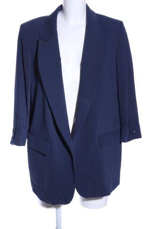 Betty Barclay Long-Blazer blau Casual-Look