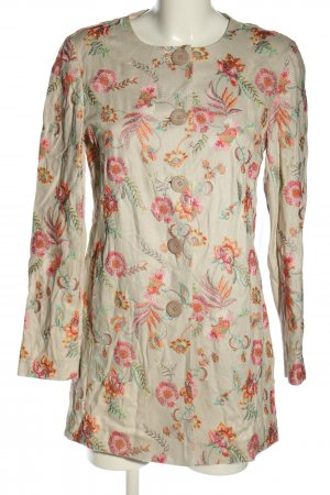 Betty Barclay Long-Blazer Blumenmuster Casual-Look