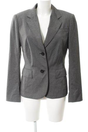 Betty Barclay Long-Blazer grau-schwarz meliert klassischer Stil