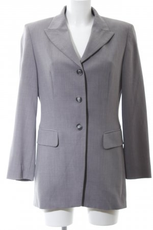 Betty Barclay Long-Blazer hellgrau meliert Business-Look