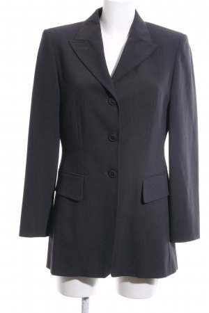 Betty Barclay Long-Blazer schwarz meliert Business-Look