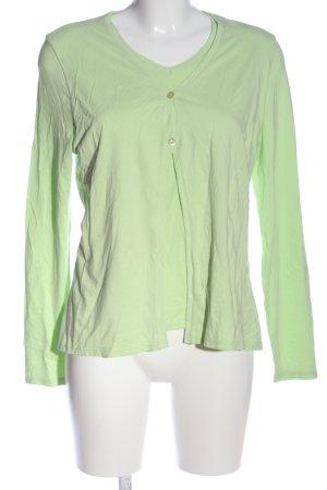 Betty Barclay Longsleeve grün Casual-Look