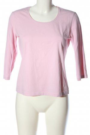Betty Barclay Manica lunga rosa stile casual