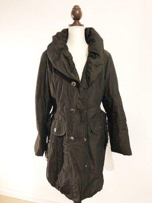 Betty Barclay Mantel Jacke mit Gürtel tailliert Größe 40 42 M L