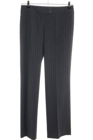 Betty Barclay Pantalón anchos negro-gris claro estampado a rayas