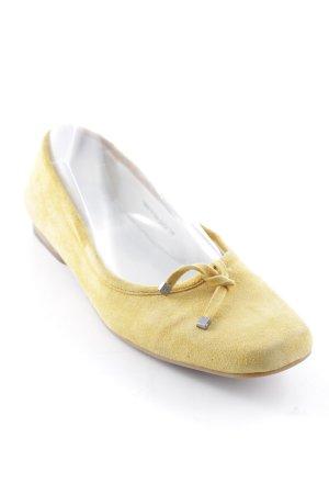 Betty Barclay Mary Jane ballerina's goud Oranje casual uitstraling