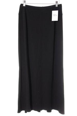 Betty Barclay Maxirock schwarz minimalistischer Stil