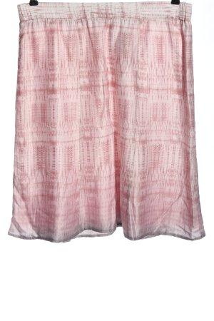Betty Barclay Gonna a campana rosa motivo astratto stile casual