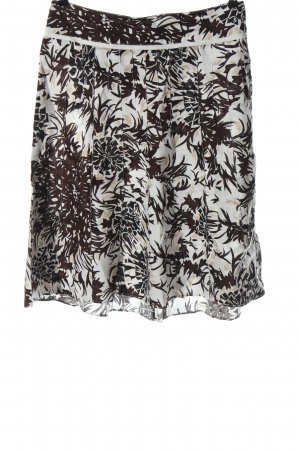 Betty Barclay Linen Skirt abstract pattern casual look